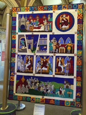 The Magna Carta Quilts - The Story of King John