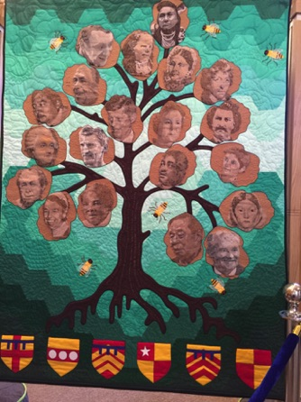 The Magna Carta Quilts - Human Rights Campaigners