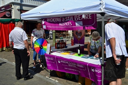 The Sam Beare Hospice Stall