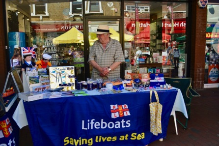 The RNLI Lifeboats Stall