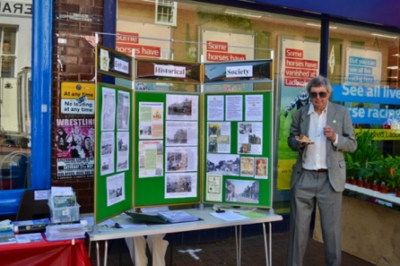 The Egham Historical Society Stall