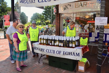 The Rotary Club Of Egham Stall.