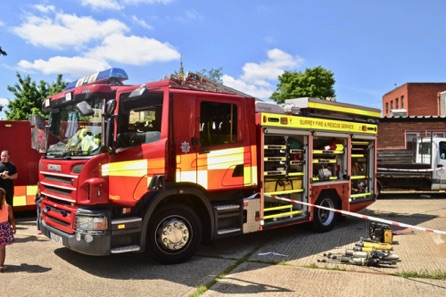 One Of The New Fire Engines, Fully Loaded With Kit.